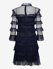 By Malina - Carmine dotted dress - cocktailklänningar - deep blue - 2