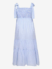 By Malina - Eloise dress - sommarklänningar - blue checker - 2