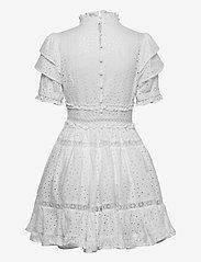 By Malina - Iro mini lace dress - sommerkjoler - white - 2
