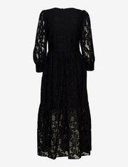 By Malina - Birdie dress - kveldskjoler - black - 2