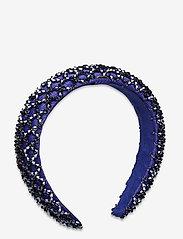 By Malina - Dixie embellished headband - haar accessoires - deep blue - 1