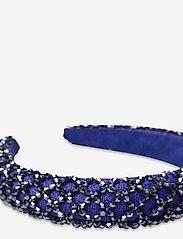 By Malina - Dixie embellished headband - haar accessoires - deep blue - 2