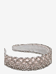 By Malina - Dixie embellished headband - accessories - grey - 2