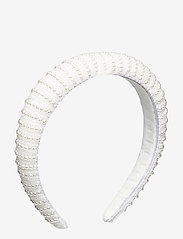 By Malina - Florence pearl headband - haar accessoires - ivory - 1
