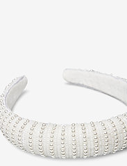 By Malina - Florence pearl headband - haar accessoires - ivory - 2
