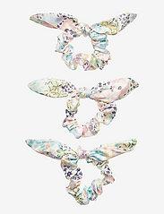 By Malina - Mini Lollo scrunchie 3 pack - hårsnoddar - summer blooms - 1