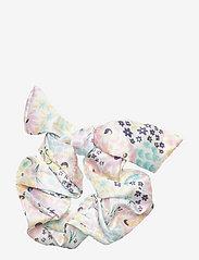 By Malina - Lollo scrunchie - hårsnoddar - summer blooms - 1