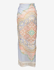 By Malina - Beach pareo - strandkläder - pastel paisley - 2