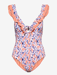 By Malina - Izzy swimsuit - baddräkter - watercolor - 1