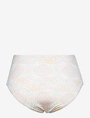 By Malina - Alyssa bikini bottom - bikinitrosor med hög midja - pastel paisley - 2