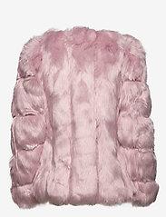 By Malina - Oria faux fur jacket - sztuczne futro - rosé - 2