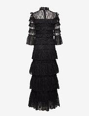 By Malina - Carmine maxi dress - avondjurken - black - 2