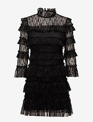 By Malina - Carmine mini dress - cocktailjurken - black - 1