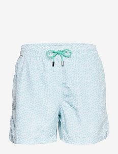 Fred Mens swim trunks - badehosen - coastal flower