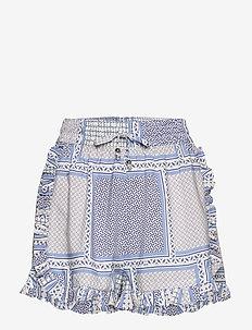 Leona shorts - casual korte broeken - bohemic blues