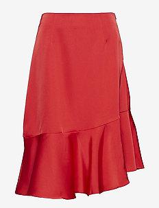 Ellie skirt - CHERRY RED