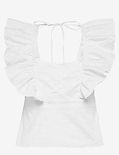 Lindsay blouse - WHITE