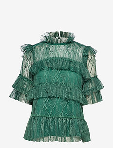 Rachel blouse - BASIL GREEN