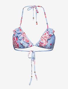 Gigi bikini top - FLIRTY FLOWER