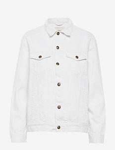 Ebba jacket - kurtki dżinsowe - white