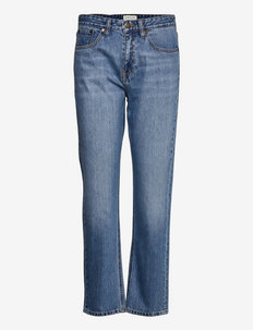 Lucy jeans - straight jeans - washed blue