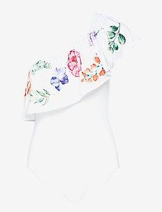 Flora swimsuit - WHITE