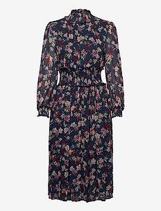 Sadie dess - sukienki do kolan i midi - magnolia indigo blue