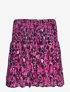 Paloma skirt - SHADOW GARDEN PINK