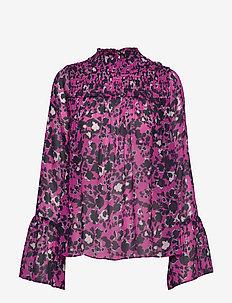 Donna blouse - SHADOW GARDEN PINK