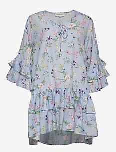 Kyla dress - short dresses - midsummer blue