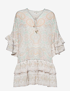 Kyla dress - festklänningar - pastel paisley