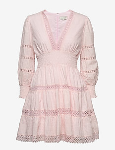 Inez dress - kurze kleider - pink