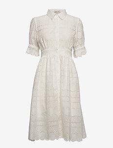Roxanne dress - shirt dresses - white