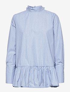 Aldina shirt - BLUE STRIPE