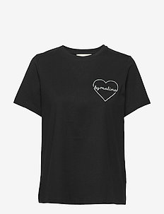 Darling tee - logo t-shirts - black