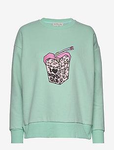 Noodle sweatshirt - sweatshirts - aqua