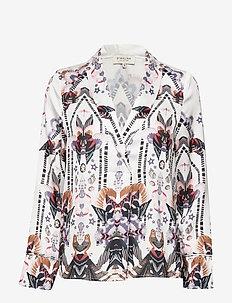 Daria blouse - ROMANA WHITE