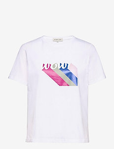Wow tee - logo t-shirts - white