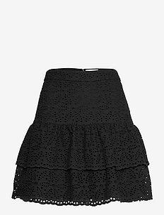 Kacey skirt - korta kjolar - black