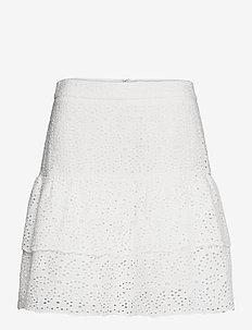 Kacey skirt - korte nederdele - white