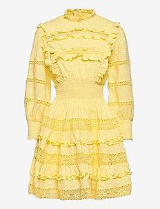 Emmie dress - sommarklänningar - lemon