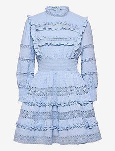 Emmie dress - sommarklänningar - sky blue