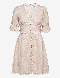 Leonie dress - robes d'été - pastel paisley