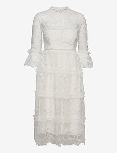 Camille dress - kanten jurken - ivory