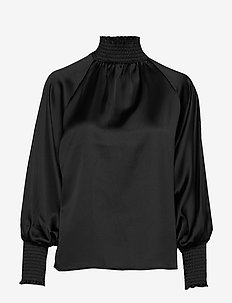 Liana blouse - BLACK