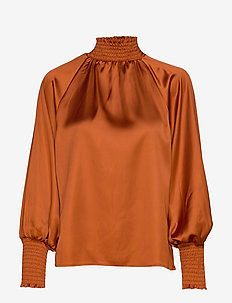 Liana blouse - SPICED HONEY