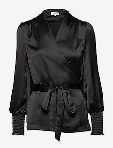 Milana blouse - BLACK