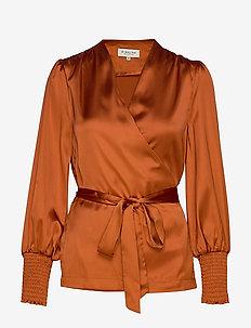 Milana blouse - SPICED HONEY