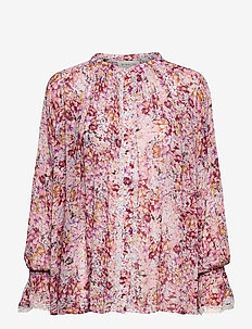 Ivey blouse - langærmede bluser - sorbet floral