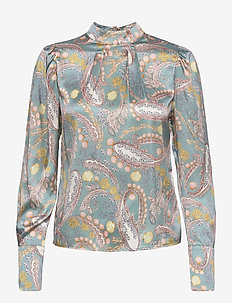 Astra blouse - langermede bluser - romantic breeze